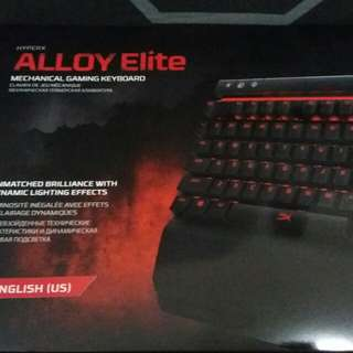 HyperX Alloy Elite Cherry Red keys