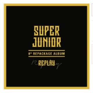 [PO] Super Junior - 8th album repackage (Replay)