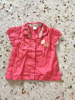 Disney Winnie the Pooh size 90 blouse