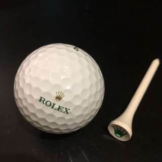 Rolex golf and ball pin