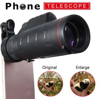 New Clip-on 35x Optical Zoom HD Telescope Lens For Mobile Phone