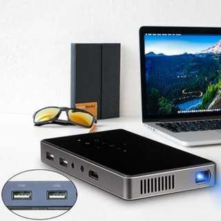 Smart mini projector build-in Android