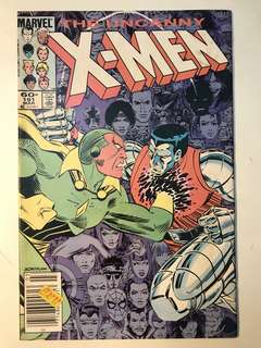 Uncanny X-Men # 191 (1st Nimrod)