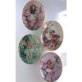 Collectible Fine Porcelain Fairies Series Plates