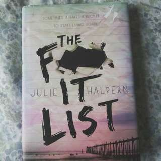 The F- It List by Julie Halpern