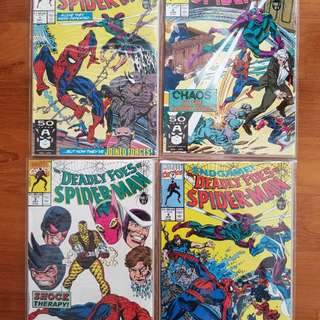 Various collector's Marvel Comics from 90s