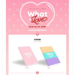 [PO] Twice - What Is Love 5th Mini Album