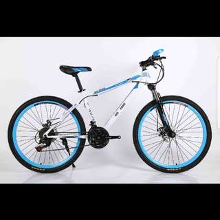 "Brand new 26"" MTB bike/bicycle with Disk brakes, Front Suspension, 21Speeds etc for 165$"