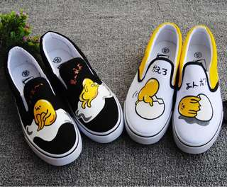 Little Gudetama AB Shoe - DGR982  Design: as attach photo  Color: as attach photo  Size: 34, 35, 36, 37, 38, 39, 40, 41, 42, 43
