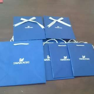 [Bundle Deal ➡ $5*] Swarovski Gift Bag / London Weight Management Paper Bags