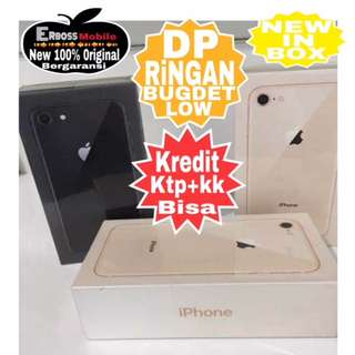 Kredit Low Dp Apple iPhone 8 64GB New Original ditoko Promo Ktp+kk wa;081905288895