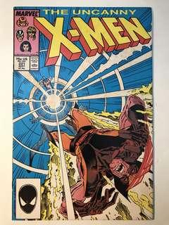 Uncanny X-Men # 221 (1st Mr Sinister)