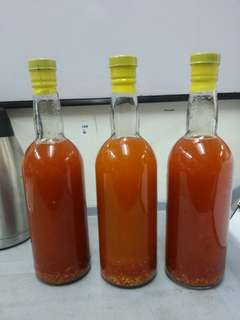 spicy vinegar(home made pinakurat)