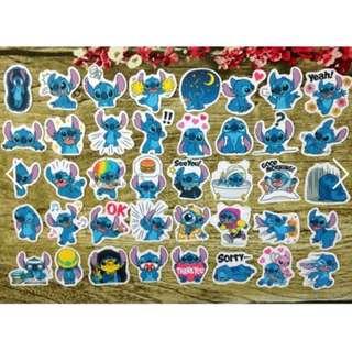[Restock] Stickers Scrapebook/ Planner Stickers #66 (Stitch)