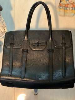 Rebecca Minkoff Black Hand Bag 黑色手袋 可放a4 電腦