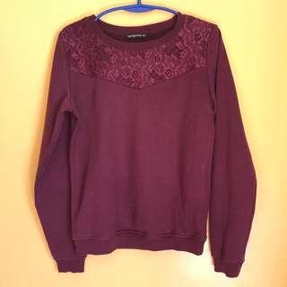 Terranova Plum Sweater