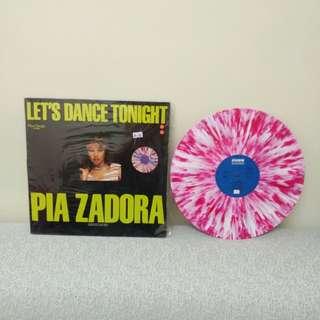 pIA ZADORA LP  LP彩碟  Let's Dance Tonight 德國版
