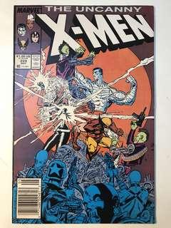 Uncanny X-Men # 229