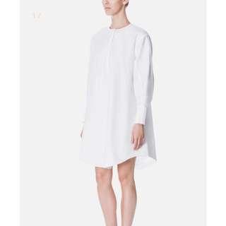 Beyond The Vines Half Placket Shirt Dress