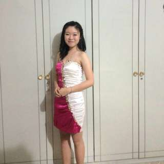 Dress 2 warna