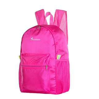 JUAL TAS LIPAT BACKPACK FOLDABLE KOREAN BAG D349