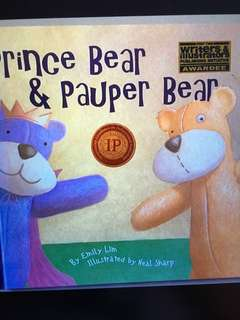 Prince Bear And the Pauper Bear by Emily Lim