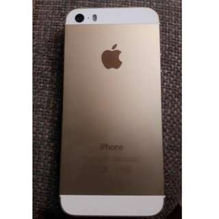 Iphone 5s 16 gb  gold REPRICED