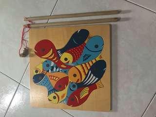 Fish magnet puzzle