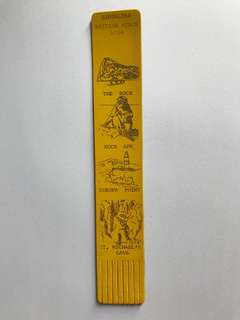 Leather book mark from Europe 6