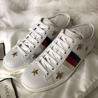 (New) Gucci Ace Bees and Stars Sneakers