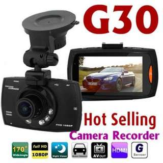G30 High Quality/Definition HD Wide Angle Car Camera Recorder