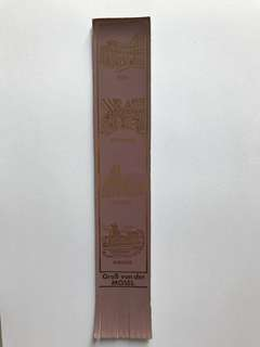 Leather book mark from Europe 7