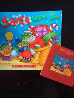 Scholastic What the Santa Can't Do with audio CD