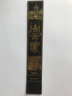 Leather book mark from Europe 8
