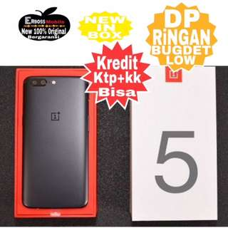 Kredit Low Dp OnePlus 5T 8/128GB New Original ditoko ktp+kk bisa wa;081905288895