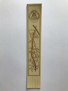 Leather book mark from Europe 11