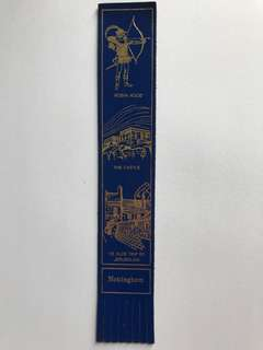 Leather book mark from Europe 12