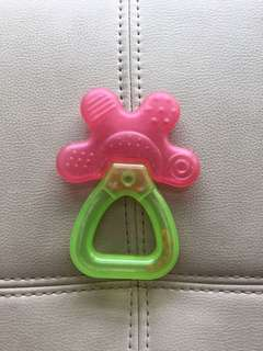 Free Baby Teether with Rattles