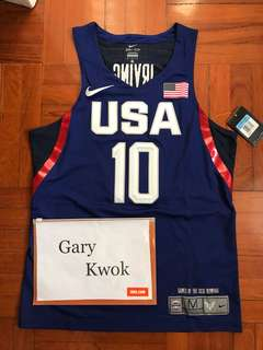 Nike Kyrie Irving USA 2016 Authentic Jersey and Shorts