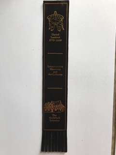 Leather book mark from Europe 14