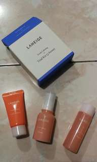 Laneige fresh calming set