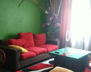 Sofa & table coffee(4 kerusi)