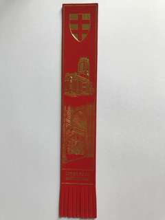 Leather book mark from Europe 16
