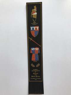 Leather book mark from Europe 17