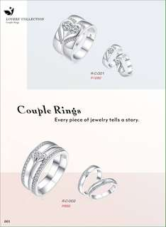 Couple Ring Price indicated each Picture :)
