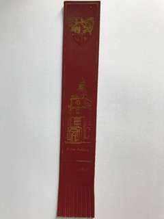 Leather book mark from Europe 18