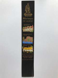 Leather book mark from Europe 19