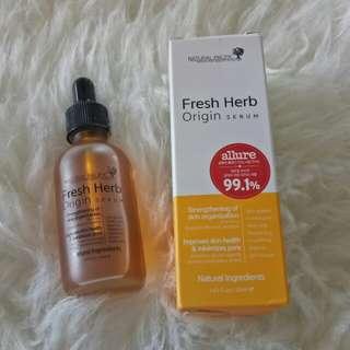 Fresh Herb Origin serum - preloved