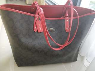 Coach Tote Bag double sides