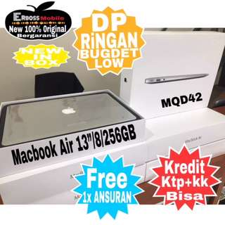 "Kredit Low Dp Macbook Air MQD42-13""/i5/8/256Gbditoko Promo ktp+kk wa;081905288895"